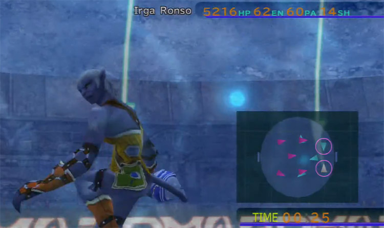 Irga Ronso Blitzball Player in FFX HD