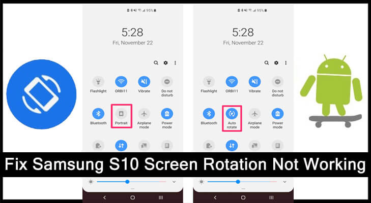Samsung S10 Screen Rotation Not Working [Quick Fixes]
