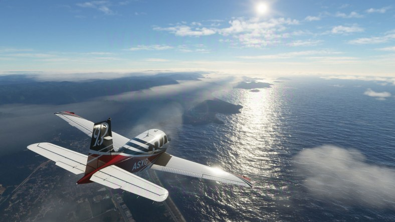 Microsoft Flight Simulator Patch Update Significantly Reduces Game Size