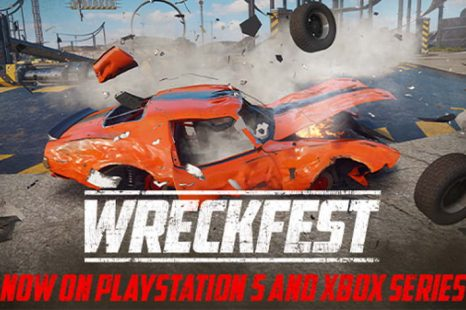 Wreckfest Now Available for PlayStation 5 and Xbox Series S/X