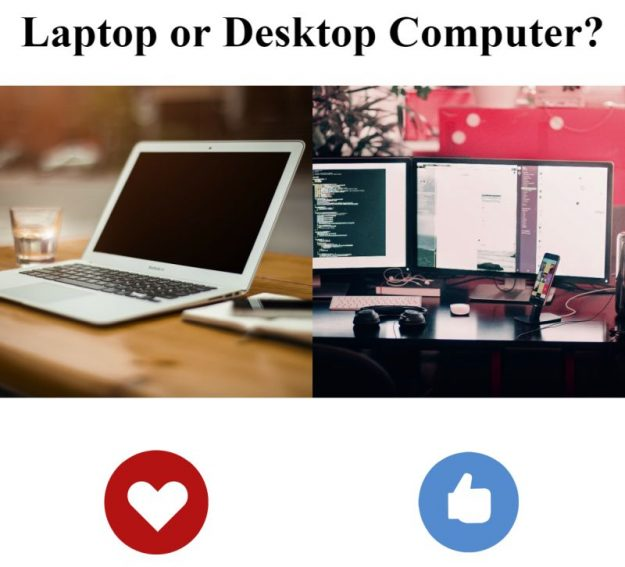 Laptop vs Desktop Computer: Which Is Best? [Answered 2021]