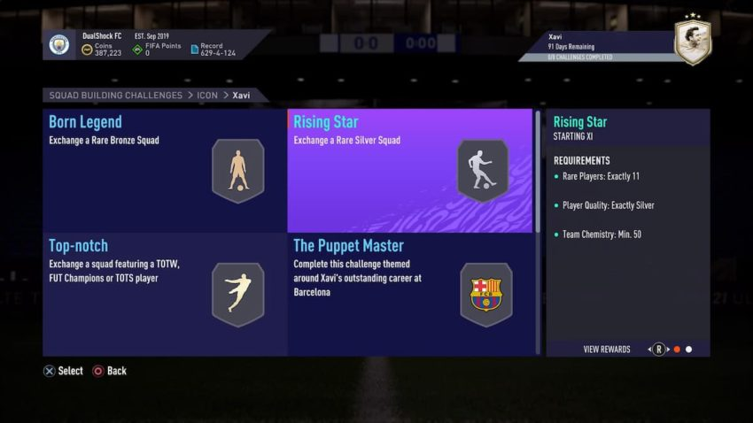 FIFA 21: How to complete Icon Xavi SBC – Requirements and solutions